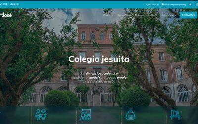 ¡Bienvenidos al nuevo sitio web del colegio San José!