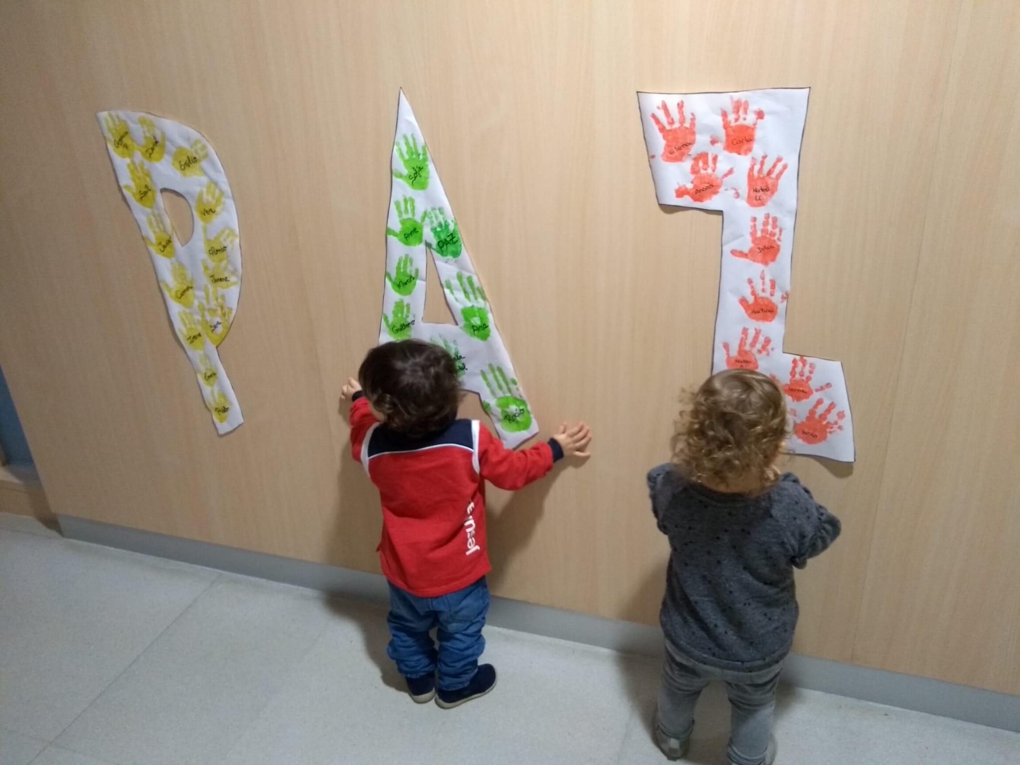 Escuela Infantil en el Día de la Paz de 2021