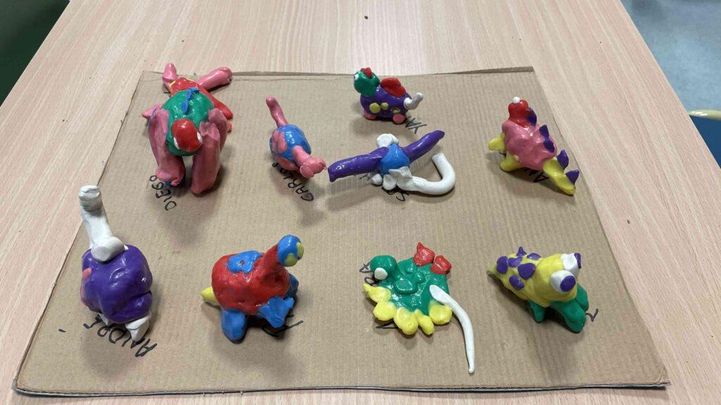 ¡Unos dinosaurios únicos!