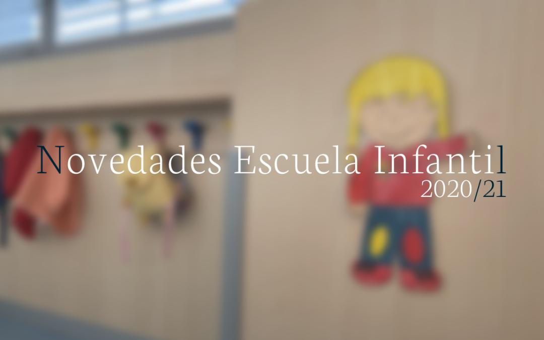 Más accesible e innovadora: novedades en la Escuela Infantil